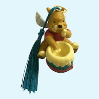 Disney Winnie the Pooh Angel with Honey Christmas Ornament