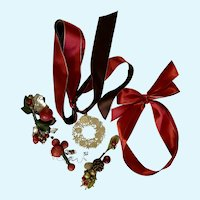 Godiva Chocolate Christmas Box Ribbons Discontinued