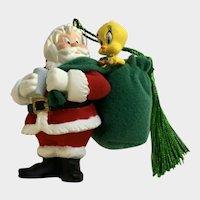Tweety Bird Cookies For Santa Christmas Ornament Warner Bros.