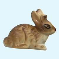 Jackalope Jack Rabbit Brown Bone China Miniature Baby Animal Figurine