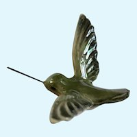 Rare Hagen Renaker Hummingbird Bird Wire Bill Figurine #811 1982