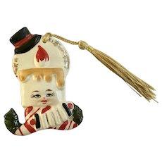 Mid-Century Artmark Ornament Anthropomorphic Candle Japan