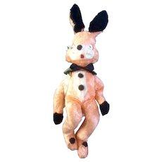 "Gund Creation Easter Bunny Rabbit Plush Vintage Stuffed Animal Mid-Century J. Swedlin Inc.  21"""