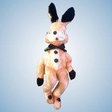 "Mid-Century Gund Creation Easter Bunny Rabbit Plush Stuffed Animal  21"""