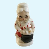 Mid-Century Napco Mrs. Claus Salt or Pepper Shaker Single Replacement AX920/P