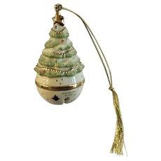 Lenox Bell Christmas Tree Ornament  Porcelain