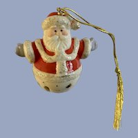 Lenox Santa Bell Christmas Tree Ornament
