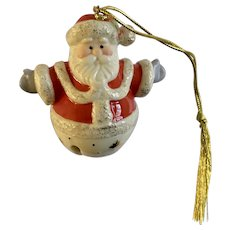 Lenox Santa Bell Christmas Tree Ornament