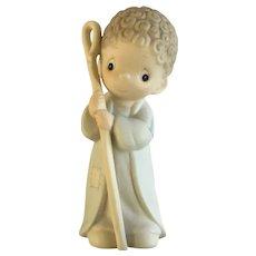 Precious Moments Christmas Shepherd Boy Figurine