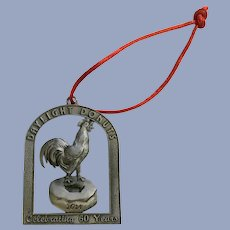 Daylight Donuts Celebrating 60 Years Pewter Christmas Ornament