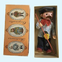 Berliner Originale German Berlin Fisherman Souvenir Doll In Original Box