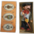 Berliner Originale German Berlin Fisherman Souvenir Doll In Original Box