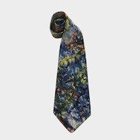 Vintage Penny's Hand Painted California Design Men's Neck Tie