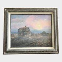 Carol Egbert, Dry and Dusty Evening Oil Painting