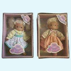 Precious Moments Small Dolls Friendship Garden