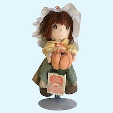 Applause Precious Moments Cloth Dolls of the Month October