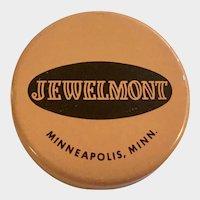 Vintage Jewelmont Empty Watch Movement Parts Tin Box