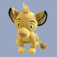 Simba The Lion King Disney Stuffed Plush Animal