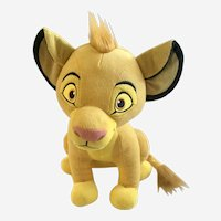 Simba The Lion King Disney Stuffed Plush Animal
