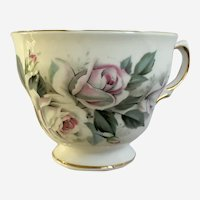Ridgway Royal Vale Rose Cup Bone China Replacement Made England #8139