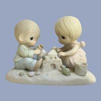 Precious Moments Figurine God Bless Our Home Enesco