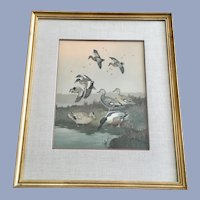 Lynn Bogue Hunt Duck Vintage Print