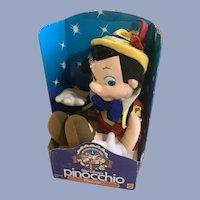 Walt Disney Pinocchio Real Boy Stuffed Plush 1992 NIB
