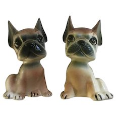 Adorable Boxer Puppy Dog Salt and Pepper Shakers