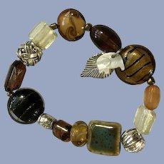 Safari Themed Beaded Bracelet