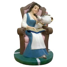 Lenox Disney Belle Thimble from Beauty and the Beast Retired Figurine