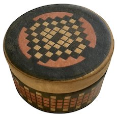 Vintage Handmade Leather Unique Design Trinket Box