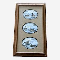 Daniel Smith, Waterfowl Three Game Bird Limited Edition Lithograph Prints