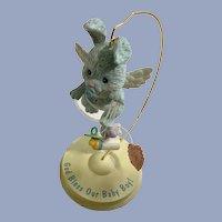 Baby Bunny Boy Angel Ornament Figurine LI'L Guardians Enesco