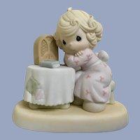 Enesco Precious Moments Figurine Lord Speak To Me