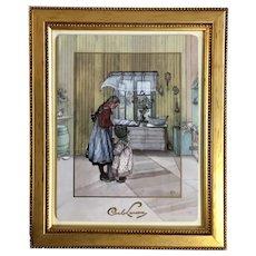 The Kitchen Carl Larsson Limited Edition 497/1000, Artis Orbis, Goebel Porcelain