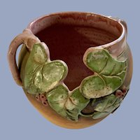 Old Patagonia Flower Pot Planter Vase Art Pottery
