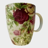 Royal Albert Country Rose Chintx Coffee Mug Cup