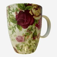 Royal Albert Country Rose Chintx Coffee Mug Cup