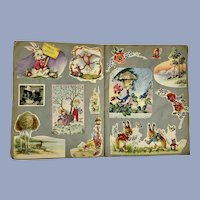 Mid-Century Scrap Book Easter & Holiday Over 185 Cards