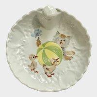 Limoges Children's Warming Dish Plate