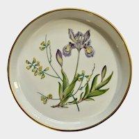 "Spode China Stafford Flowers 7"" Quiche Tart Dish England"