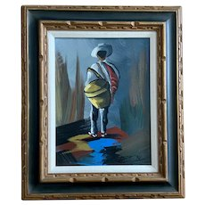 Sal, South American Man Oil Painting