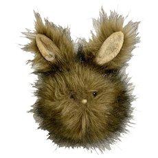 Aurora Easter Bunny Rabbit Brown Stuffed Plush Animal