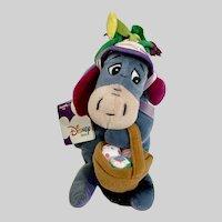 Easter Eeyore Disney Stuffed Plush Animal From Winnie The Pooh