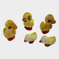 Wilton Easter Plastic Duck Cake Toppers Mid-Century Hong Kong