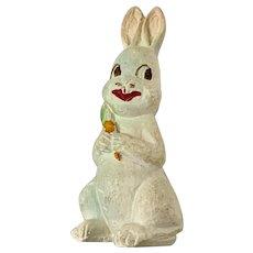 Vintage Chalkware Easter Bunny Rabbit Figure