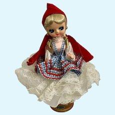 Bradley Little Red Riding Hood Doll 1977