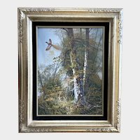 Ferdinand Ring Neck Pheasant Hunting Oil Painting