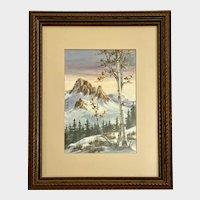 Kathryn Bowden, Aspen Trees Oil Painting Colorado Artist