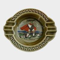 Finn MacCoul Wade Ashtray Irish Porcelain